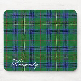 Majestic Scottish Clan Kennedy Tartan Mouse Mat