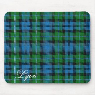 Majestic Scottish Clan Lyon Tartan Mouse Mat