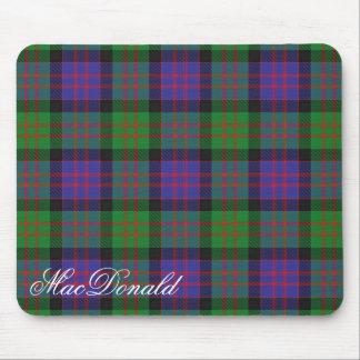 Majestic Scottish Clan MacDonald Tartan Mouse Mat