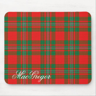 Majestic Scottish Clan MacGregor Gregor Tartan Mouse Mat