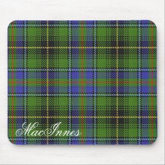 Majestic Scottish Clan MacInnes Tartan Mouse Mat