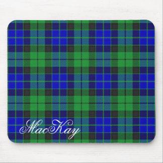 Majestic Scottish Clan MacKay Tartan Mouse Mat
