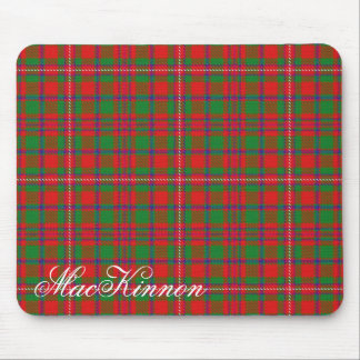 Majestic Scottish Clan MacKinnon Tartan Mouse Mat