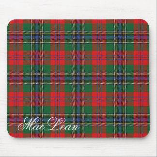 Majestic Scottish Clan MacLean Tartan Mouse Mat
