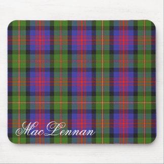 Majestic Scottish Clan MacLennan Tartan Mouse Mat