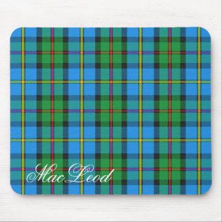 Majestic Scottish Clan MacLeod of Harris Tartan Mouse Mat