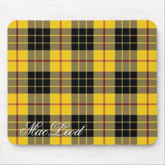 Majestic Scottish Clan MacLeod of Lewis Tartan Mouse Mat