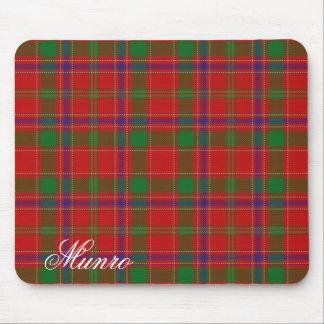 Majestic Scottish Clan Munro Tartan Mouse Mat