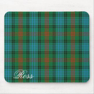 Majestic Scottish Clan Ross Tartan Mouse Mat