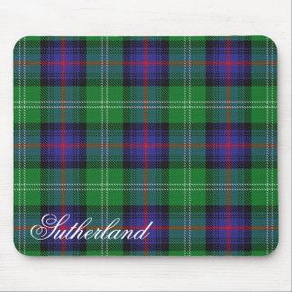 Majestic Scottish Clan Sutherland Tartan Mouse Mat