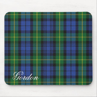 Majestic Scottish House of Gordon Clan Tartan Mouse Mat