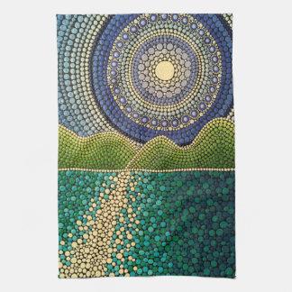 Majestic Sky Tea Towel
