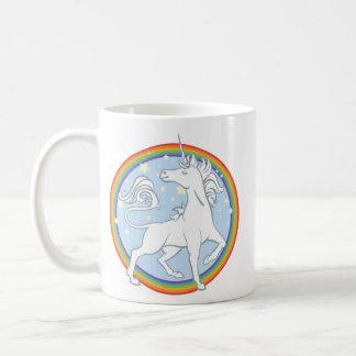 Majestic Sparkle Rainbow Unicorn Coffee Mug