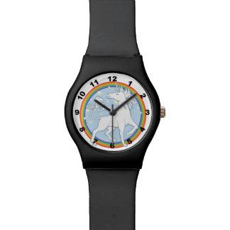 Majestic Sparkle Rainbow Unicorn Watch