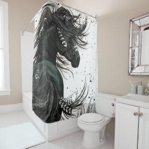 Majestic Spirit Horse By Bihrle Shower Curtain