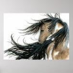 Majestic Spirit Pony Horse Poster by BiHrLe