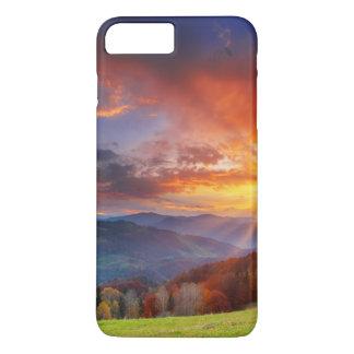 Majestic sunrise in the mountains landscape iPhone 8 plus/7 plus case