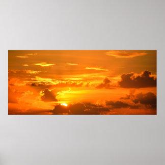 Majestic Sunrise Poster