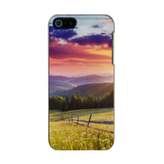 Majestic sunset in the mountains incipio feather® shine iPhone 5 case