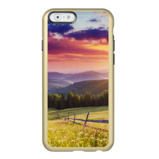 Majestic sunset in the mountains incipio feather® shine iPhone 6 case