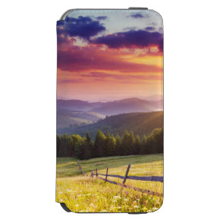 Majestic sunset in the mountains incipio watson™ iPhone 6 wallet case