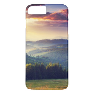 Majestic sunset in the mountains landscape 4 iPhone 8 plus/7 plus case