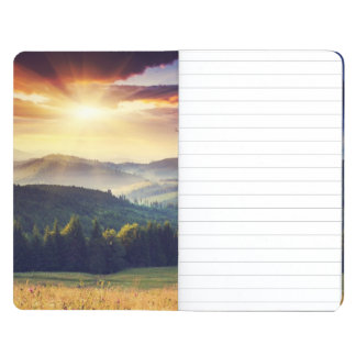 Majestic sunset in the mountains landscape 4 journal