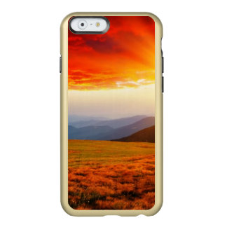 Majestic sunset in the mountains landscape 5 incipio feather® shine iPhone 6 case