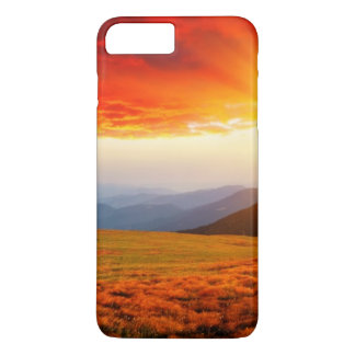Majestic sunset in the mountains landscape 5 iPhone 8 plus/7 plus case