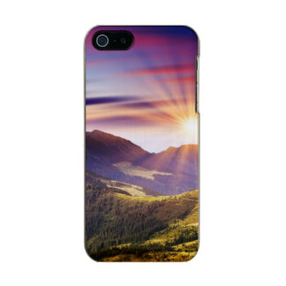 Majestic sunset in the mountains landscape 6 incipio feather® shine iPhone 5 case