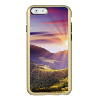 Majestic sunset in the mountains landscape 6 incipio feather® shine iPhone 6 case