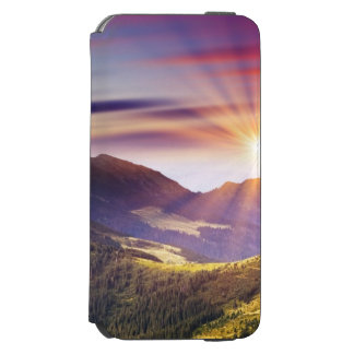 Majestic sunset in the mountains landscape 6 incipio watson™ iPhone 6 wallet case