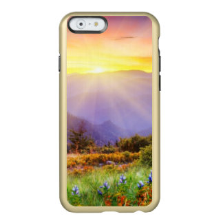 Majestic sunset in the mountains landscape incipio feather® shine iPhone 6 case