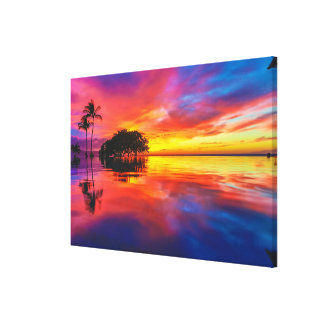 Majestic Sunset | Wailea Beach, Maui, Hawaii Canvas Print
