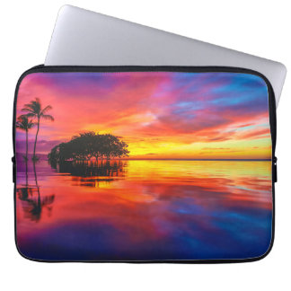 Majestic Sunset | Wailea Beach, Maui, Hawaii Laptop Sleeve
