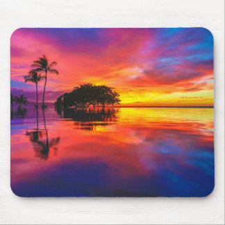 Majestic Sunset | Wailea Beach, Maui, Hawaii Mouse Mat