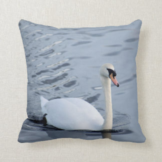 Majestic Swan Designer Cushion