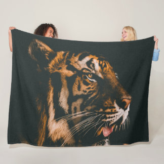 MAJESTIC TIGER FLEECE BLANKET