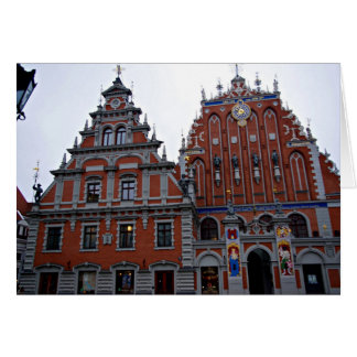 Majestic Town Hall Riga, Latvia Card
