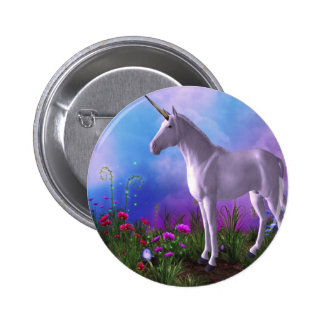 Majestic Unicorn 6 Cm Round Badge