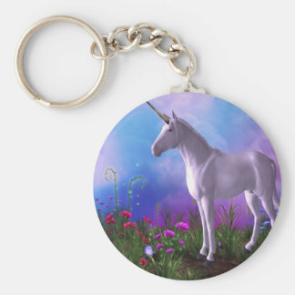 Majestic Unicorn Key Ring