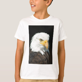 Majestic white and brown Bald Eagle posing T-Shirt