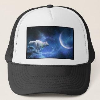 Majestic Wolf Dance Trucker Hat