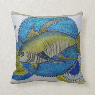 Majestic yellow fin Tunas Cushion