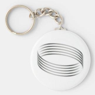 Majic Ring Optical Illusion Key Chains