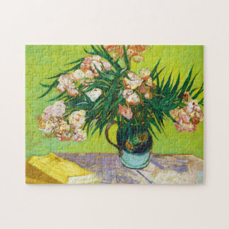 Majolica Jar Branches Oleander Vincent van Gogh Jigsaw Puzzle