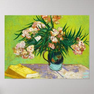 Majolica Jar Branches Oleander Vincent van Gogh Poster