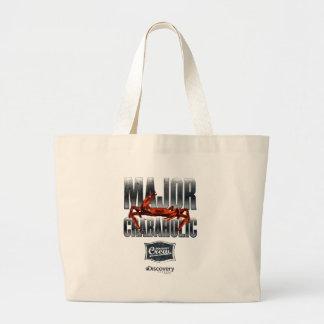 Major Crabaholic Tote Bag