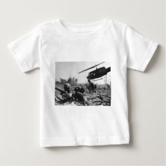 Major Crandall's UH-1D Helicopter in Vietnam War Baby T-Shirt