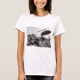 Major Crandall's UH-1D Helicopter in Vietnam War T-Shirt